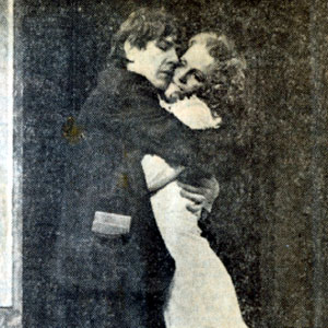 1974, 'TIS PITY SHE'S A WHORE (Wimbledon): Giovanni (Ian McKellen) and Annnabella (Paola Dionisotti)