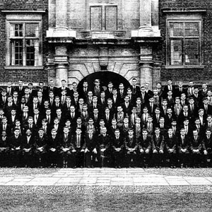 1958,   St. Catharines Freshman Class, Cambridge.  Ian McKellen in 2nd row from top, 9th from left