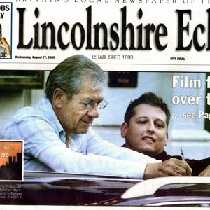 The Lincolnshire Echo, Front Page, 17 August 2005