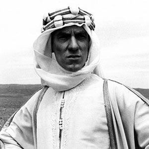 Ian McKellen as T. E. Lawrence
