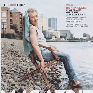 Cover The Times Magazine 27 August 2005