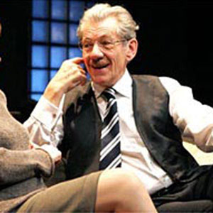 Deborah Findlay and Ian McKellen