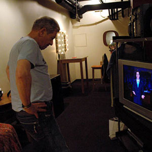 2006,   Backstage Jimmy Kimmel Show, Hollywood, 2 May 2006  - Photo by Keith Stern