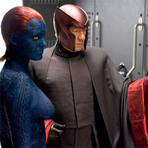 2006, X-MEN: THE LAST STAND: Mystique, Magneto, Pyro
