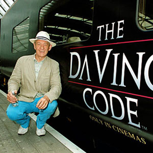 16 May 2006, with Eurostar train named THE DA VINCI CODE