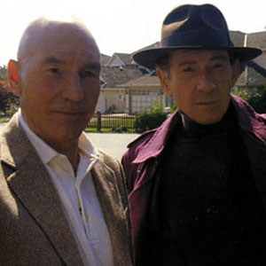 2006, X-MEN: THE LAST STAND: Xavier (Patrick Stewart) and Magneto (Ian McKellen) circa 1980