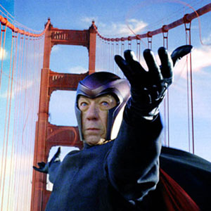2006, X-MEN: THE LAST STAND: Magneto in San Francisco