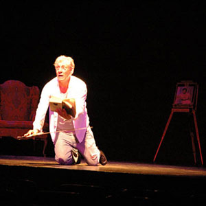 2006, A KNIGHT OUT IN LOS ANGELES (2006): Fly, You Fools! (Gandalf), Rehearsal  - Photo by Keith Stern