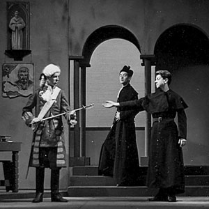 The only law that commands obedience here, is that of God. (Ian McKellen, center)