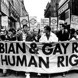 20 February 1988<br>Manchester Protest against Section 28