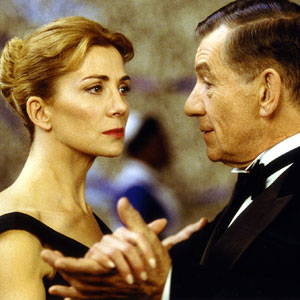 2005, ASYLUM: Stella (Natasha Richardson) and Dr Cleave (Ian McKellen)
