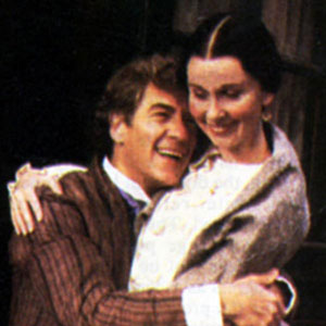Platonov (Ian McKellen) and his wife (Kate Burton)
