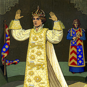 Ian McKellen as Richard II