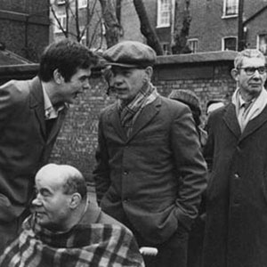 Walter (Ian McKellen) with other inmates at the mental hospital