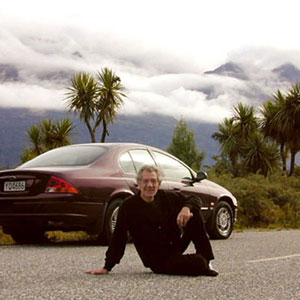 The Road to Glenorchy, April 2000