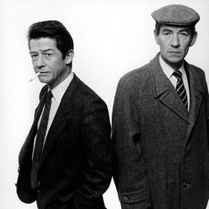 John Hurt and Ian McKellen