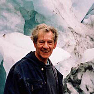 Ian McKellen, New Zealand, 2000