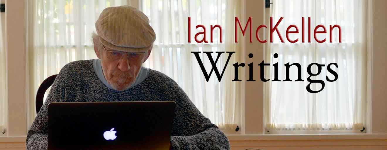 Ian McKellen Writings